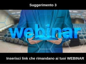 come fare lead generation: i webinar
